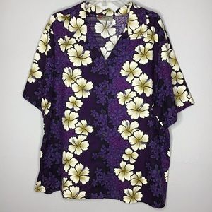 Hilo Hattie Original Hawaiian Top Sz 1XL